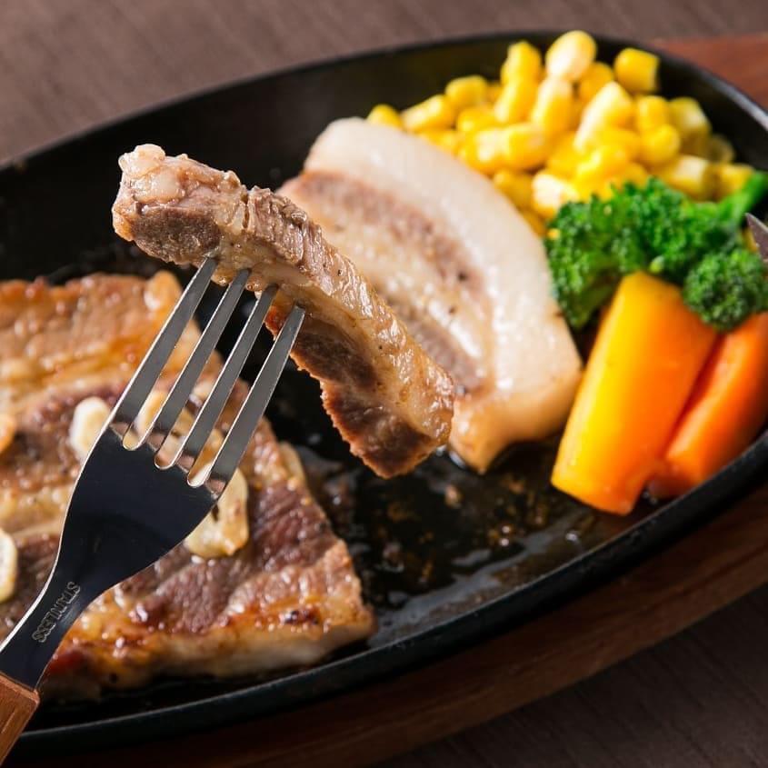 猪豚ステーキの画像